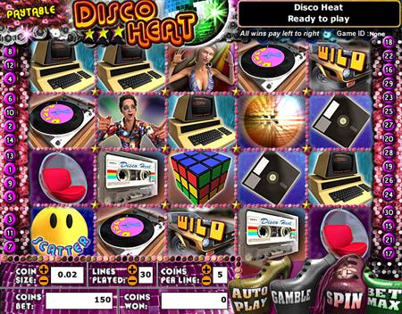 bingo liner disco heat 5 reel online slots game
