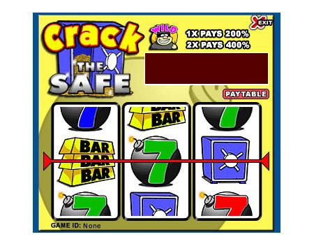 bingo liner crack the safe 3 reel online slots game